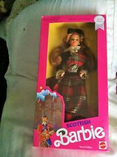 Scottish BARBIE Dolls of the World Collection 1990 2nd Ed Mint NRFB