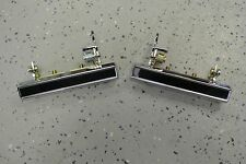 1970-81 Chevrolet Camaro CHROME Door Handles 20099254 20099255 Pair Set (2)