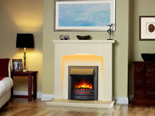 Endeavour Fires New Cayton Electric Fireplace Suite, Black Trim and Fret