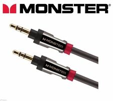 Monster® i800 Auxiliary Cable 3.5mm High Quality Car Aux Audio Lead 7ft / 2m