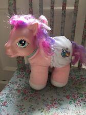 My Little Pony g3 BON APPETIT SO SOFT BABY PONY CAVALLO GIOCATTOLO MORBIDO 2005 Personaggio