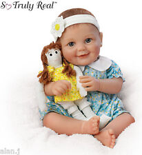 Ashton Drake Lifelike Baby Doll My Dolly My Best Friend Poseable