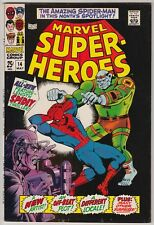 MARVEL SUPER-HEROES #14, MARVEL COMICS, NM- CONDITION, SPIDER-MAN