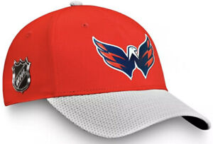 New Washington Capitals Fanatics Adjustable Hat One Size Fits Most Red