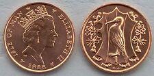 Insel Man / Isle of Man 1 Penny 1986 p143 unz.