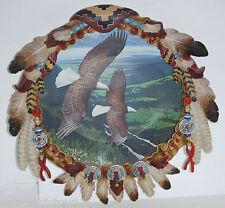 """""""Regal Flight"""" 1998 Dreamcatcher Plate by John Picher"""