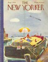 1948 New Yorker Aug 7 - Beach on the Barge