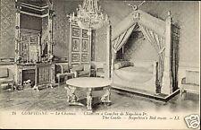60 - cartolina - Camera da letto il castello di COMPIEGNE