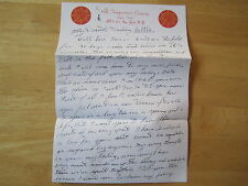 Elvis Presley handwritten letter while in the Army - reproduction