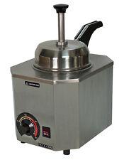 Nacho Cheese Dispenser Warmer Paragon 2028D Heated Spout, Hot Fudge, Caramel
