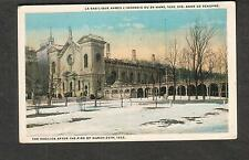 Canada unmailed post card Bascilica Ste Anne de Beaupre after the fire in 1922