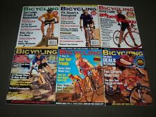 1999 BICYCLING MAGAZINE LOT OF 7 - CYCLE - GREAT COVERS & PHOTOS - PB 190Y