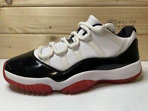 Nike Air Jordan 11 Retro Low Concord Bred Style # AV2187-160 Size Mens 9.5