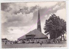 CPSM 10280 FONTAINE LES GRES Eglise Agnès voitures Edt S.P.A.D.E.M.