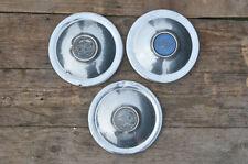 Riley hub caps vintage old wheel trims metal hubcap x 3 classic