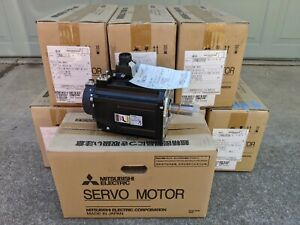 Mitsubishi HF154BS-A48 Servo Motor 1.5kW with Break ***Shipped from USA***