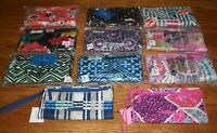 NWT Vera Bradley RFID FRONT ZIP WRISTLET wallet holds iPhone 6 iPhone 7 iPhone 8