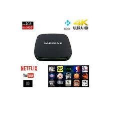 Smart TV BOX Android 7.1 2GB RAM 16GB 4K IPTV 4 CORE