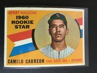 F66524  1960 Topps #121 Camilo Carreon RS RC WHITE SOX