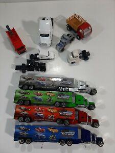Junkyard Lot of Die Cast Semi Trucks (Matchbox, M2 Machines, Kinsmart)