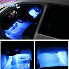 Ice Blue LED Car Interior Accessories Floor Decora Atmosphere Strip Lamp Lights