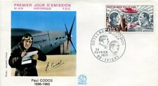 FRANCE FDC - A48 2 PAUL CODOS AVION IVIERS 24 2 1973 - LUXE