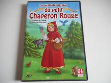 DVD - LA VERITABLE HISTOIRE DU PETIT CHAPERON ROUGE - CHARLES PERRAULT