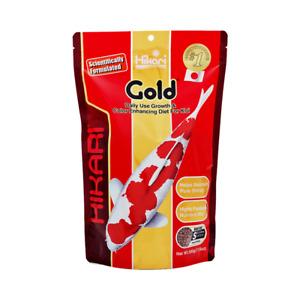 Hikari Gold Small  500g - 3.2-3.7mm Pellet Goldfish & Koi Fish Food Aquarium