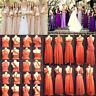 Women Infinity Dress Convertible Formal Multi Way Wrap Long Dresses Bridesmaid