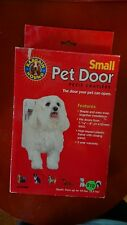 New Small pet/doggie door for pets up to 12 pounds