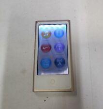 Apple iPod Nano 7th Gen. 16GB - (A1446) Gold - Fully Functional- READ BELOW