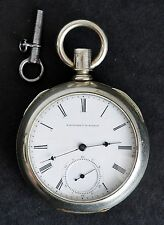 1861-71 E Howard Pocket Watch MERSHON REGULATOR Grade: Ser III Size: 18s RUNS