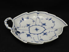 Rare Antique c. 1875 Royal Copenhagen Blue & White Fluted Tray