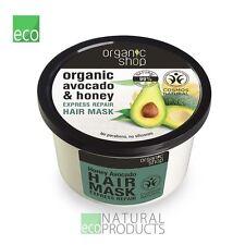 Organic Shop Hair Mask Express Repair Avocado and Honey 250ml