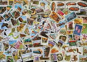 Afghanistan Thematic Stamp Collection 100  Different Used Stamps