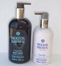 MOLTON BROWN HUGE 500ml YLANG YLANG BODY WASH NOURISHING BODY LOTION GIFT SET