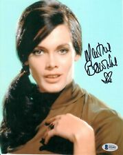 Martine Beswick Autographed Signed 8 X 10 Photo BECKETT BAS COA