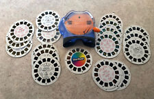 View Master Fisher Price 2002, 18 Cards, Disney, Dinosaurs, and more