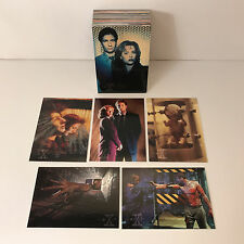 X-FILES SERIES 1 (1995) Complete Card Set DAVID DUCHOVNY 1st SEASON Topps