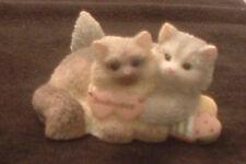 Enesco Calico Kittens Soul Mates Two Kittens Hugging Priscilla Hillman 682993