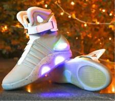 HOT BACK TO THE FUTURE LIGHT WARRIOR Sneaker College Casual BASKETBALL LED SHOES