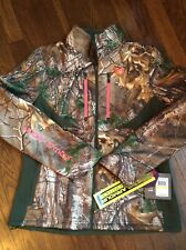 Women's Under Armour Sz Medium Storm 1 Camo Jacket  Scent Control  Infrared