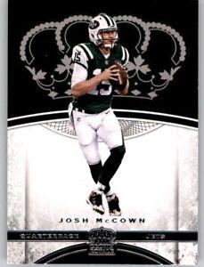 2017 Preferred Crown Royale Josh McCown NFL PWE Base Card Jets #45