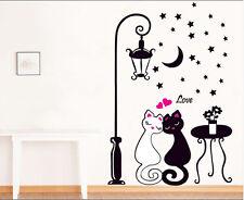 Creative Rimovibile Amanti dei gatti Arte Da Parete, Decalcomania Adesivo Murale