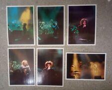 6 carte postale The Cure en concert