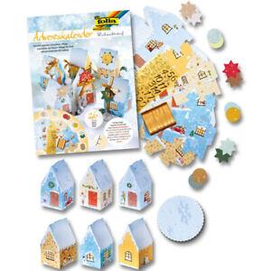 Christmas Village Advent Calendar Craft Kit