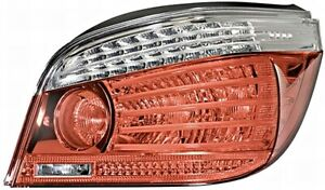 HELLA LED Crystal Clear Tail Light Rear Lamp Right Fits BMW E60 2007-2010 LCI