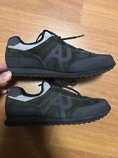 100%Auth BNIB ARMANI JEANS AJ Sneakers Running Shoes US8.5 UK8