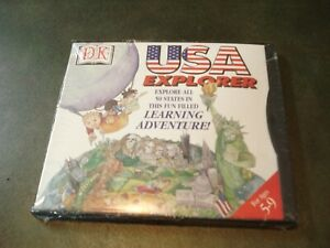 DK USA Explorer  (PC-CD) AGES 5-9 HOME SCHOOL/LEARNING AID