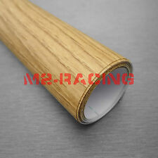 "12""x48"" 1ft  x 4ft Oak Wood Textured Grain Decal Vinyl Wrap Film Sticker #1393"